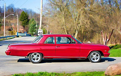 Chevrolet Biscayne Photograph - Wicked Fast by Steve Harrington