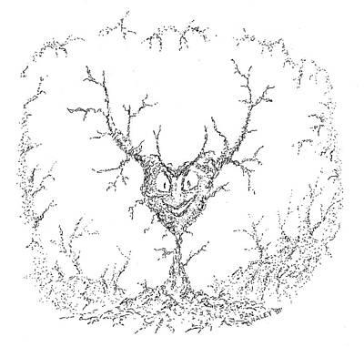 Drawing - Wicked Heart by Dan Haley