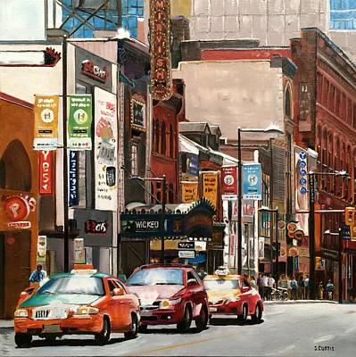 Dundas Painting - Wicked by Stuart Curtis