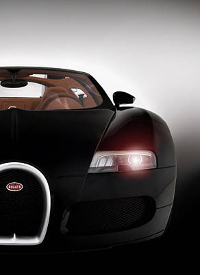 Wicked Veyron Art Print by Peter Chilelli