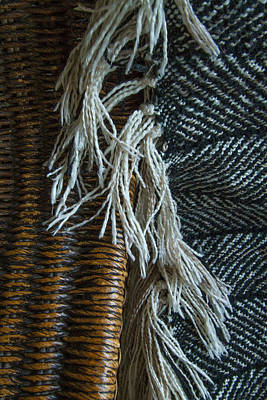 Photograph - Wicker And Wool by Roger Mullenhour