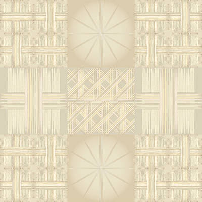 Wicker Quilt Art Print by Kevin McLaughlin