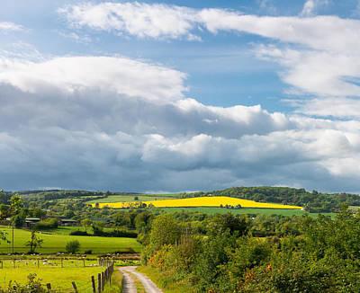 Wicklow Landscape Art Print