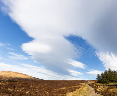 Photograph - Wicklow Way Hike Through Wicklow Mountains by Semmick Photo