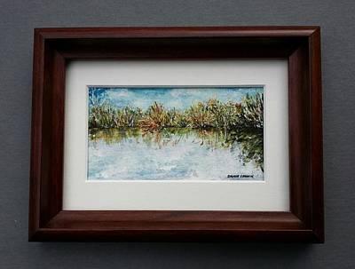 Painting - Widden Bay At Sunset by Brenda Berdnik