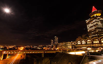 Photograph - Wide-angle Vancouver by Haren Images- Kriss Haren