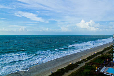 Photograph - Wide Beach by Jonny D