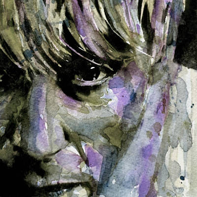 Emotive Painting - Wide Eyed Boy From Freecloud by Paul Lovering