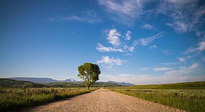 Dirt Roads Photograph - Wide Open by Kristopher Schoenleber