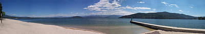 Photograph - Wide Pan At Sandpoint by Georgia Hamlin
