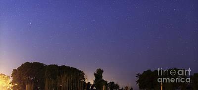 Mistletoe - Wide Panorama Of Comet Panstarrs by Luis Argerich