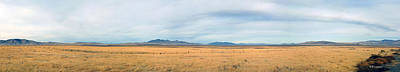 Photograph - Wide View In Western Wyoming by Michael Flood