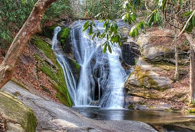 Widows Creek Falls Art Print