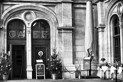 Photograph - Wien Cafe by John Rizzuto