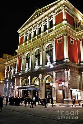 Photograph - Wiener Musikverein by Elvis Vaughn