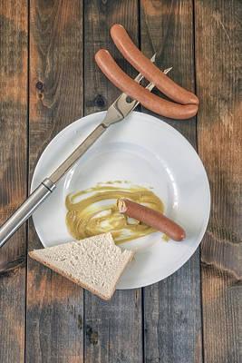 Bite Photograph - Wieners by Joana Kruse