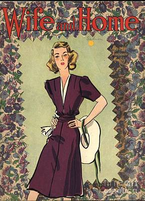 Wife And Home 1940s Uk Womens Magazines Print by The Advertising Archives
