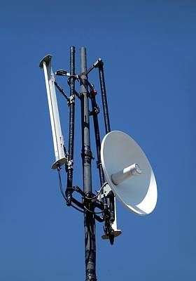 Wifi Antennae Print by Cordelia Molloy