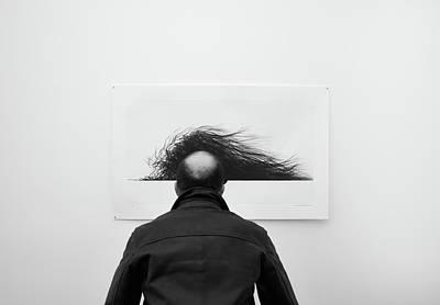 Wig Art Print
