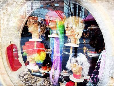 Photograph - Wig Store by Mark Block