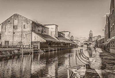 Wigan Pier - A View Of The Past Print by Paul Madden
