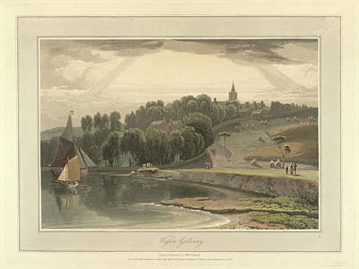 Wigton Harbour In Galloway Art Print by British Library