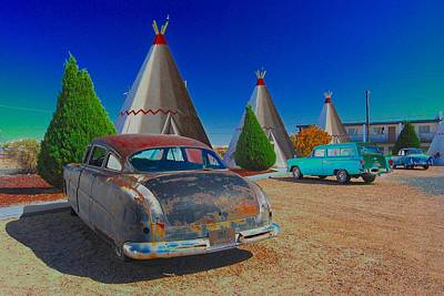 Photograph - Wigwam Motel by Tam Ryan