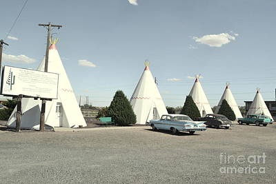 Art Print featuring the photograph Wigwams In Arizona by Utopia Concepts