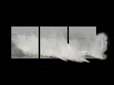 Photograph - Wiinter Storm - Framed by Liz Marr