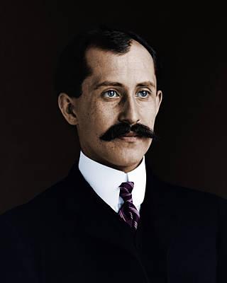 Photograph - Wilbur E Orville Wright Em 1905 by Celestial Images