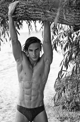 Male Nude Relief Relief - Wild by Alexander Annenkov