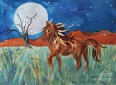 Painting - Wild And Free by Ellen Levinson