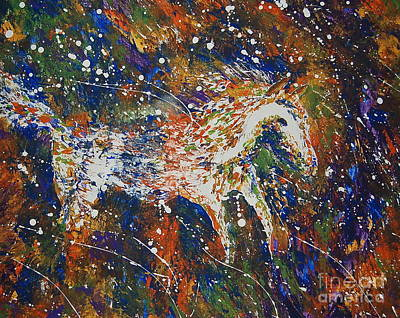 Painting - Wild And Free by Tamyra Crossley