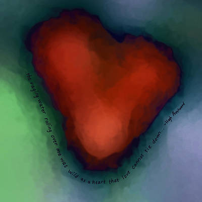 Digital Art - Wild As A Heart... by Kathi Shotwell