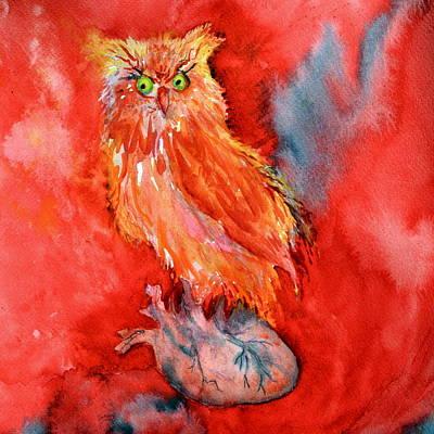 Wild At Heart Original by Beverley Harper Tinsley