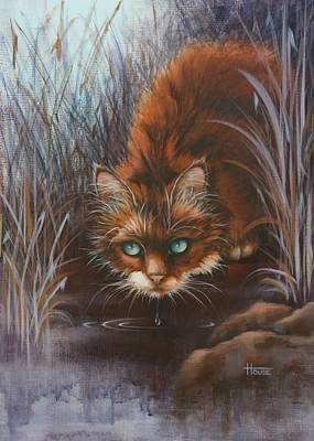 Wild At Heart Art Print by Cynthia House