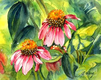 Wild Beauty Art Print by Betty M M   Wong