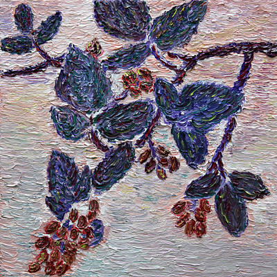 Painting - Wild Berries by Vadim Levin