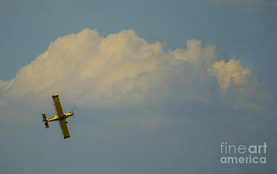 Photograph - Wild Blue Yonder Over Chenoa Illinois by Deborah Smolinske