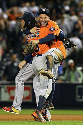 Playoffs Photograph - Wild Card Game - Houston Astros V New by Elsa