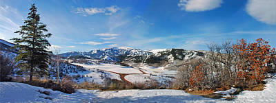 Wild Cat Ranch - Snowmass Art Print