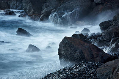 Photograph - Wild Coastline by Jay Evers