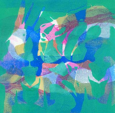Wild Dance Art Print