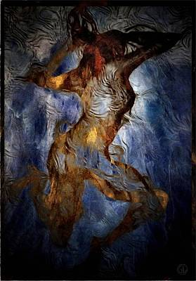 Woman Digital Art - Wild Dance In The Night by Gun Legler
