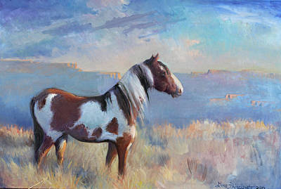Wild Domain Art Print by Gwen Carroll