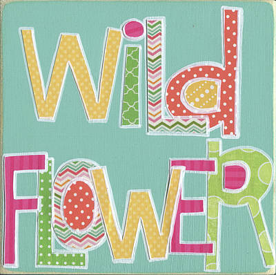 Juvenile Art Painting - Wild Flower by Alli Rogosich