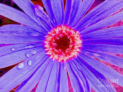 Wild Flower Close Up Art Print