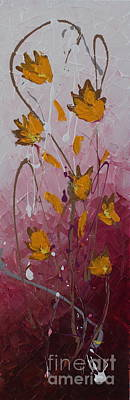 Painting - Wild Flowers 3 by Preethi Mathialagan