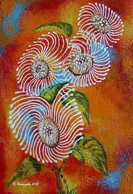 Painting - Wild Flowers by Hemu Aggarwal