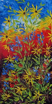 Painting - Wild Flowers by Katia Aho